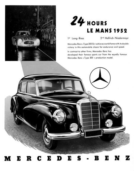 Mercedes aux 24 heures du Mans Dcpmbe21