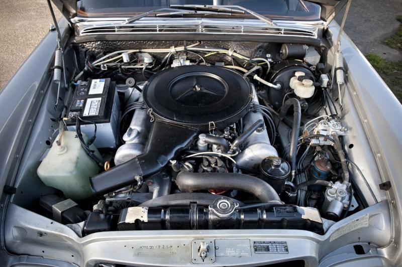 La Mercedes 250 S-SE / 280 S-SE / 300 SE (W108/W109) Berline   Et-30014