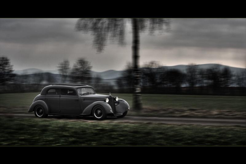 Les Mercedes Hot-Rod Fahren10
