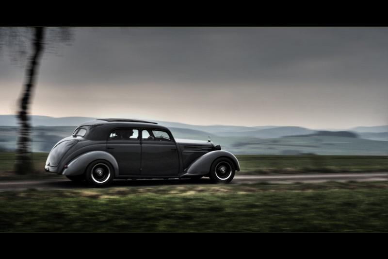 Les Mercedes Hot-Rod Fahren11