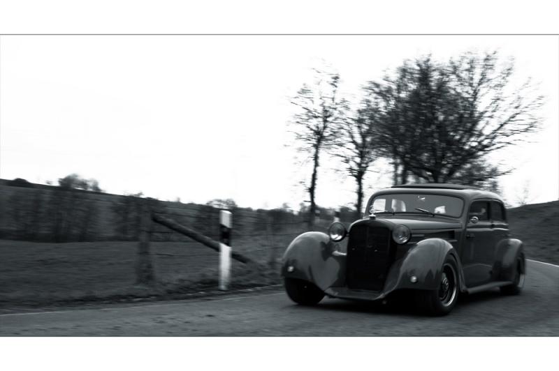 Les Mercedes Hot-Rod Fahren12