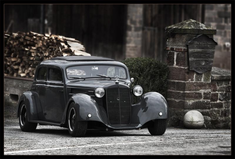 Les Mercedes Hot-Rod Front10