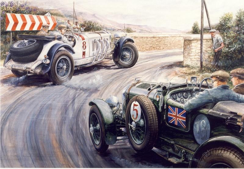 Mercedes aux 24 heures du Mans Grandp10
