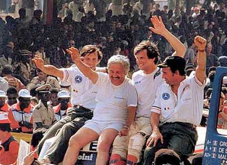 Victoire au Paris-Dakar 1983 Gw510
