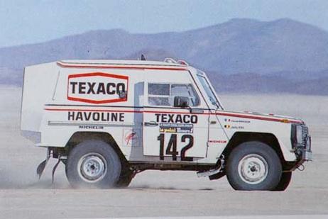 Victoire au Paris-Dakar 1983 Gw710
