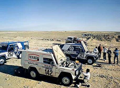 Victoire au Paris-Dakar 1983 Gw910