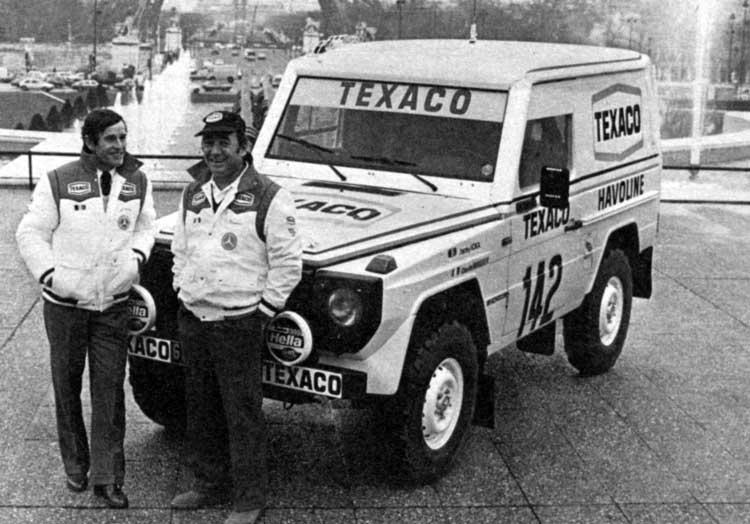 Victoire au Paris-Dakar 1983 Ickx_b10