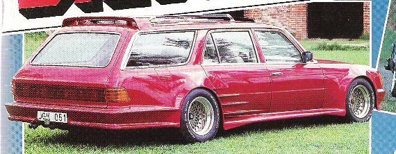 La Mercedes 450 SEL Estate Image911