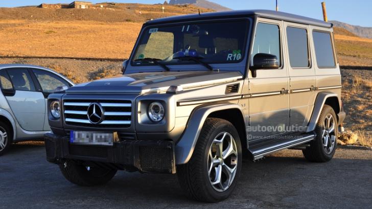Mercedes Benz Classe G : Edition finale.... ou pas.... Mb-cla10