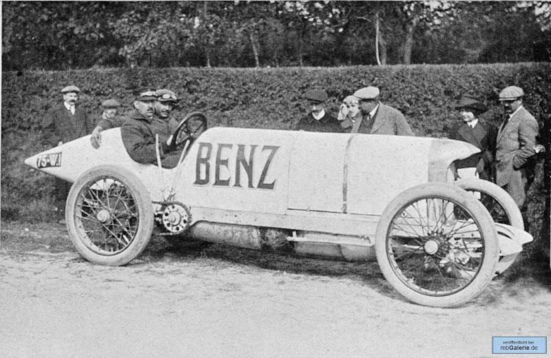 [Historique] La Blitzen-Benz 200HP 1909 Mbga1351