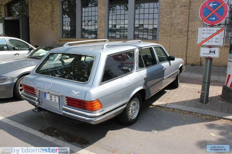 La Mercedes 450 SEL Estate Mbgal290