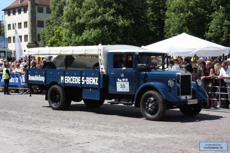 75 ans de transporteurs pour les flèches d'argent Mbgal292