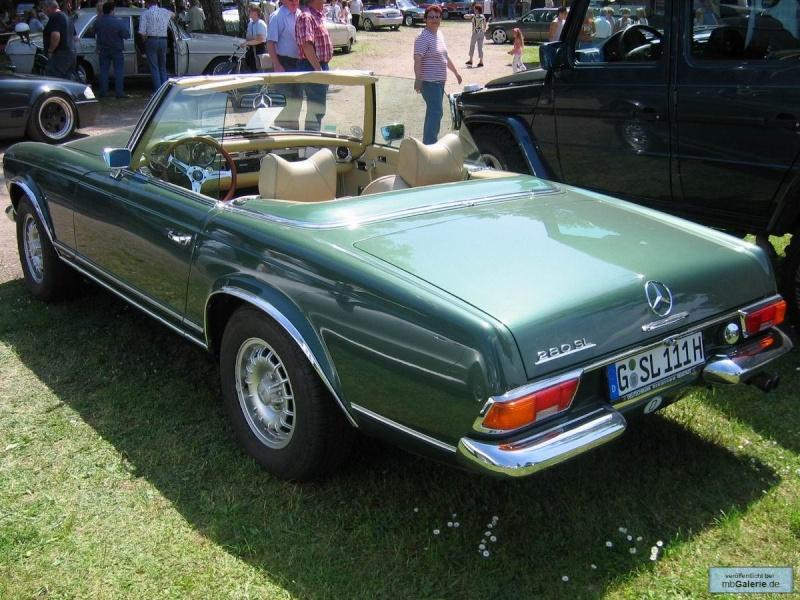 "La ""Pagode"" 280 SL (W113 1967-1971)  Mbgal968"