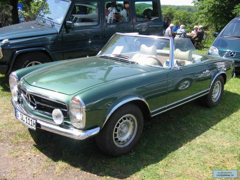 "La ""Pagode"" 280 SL (W113 1967-1971)  Mbgal970"