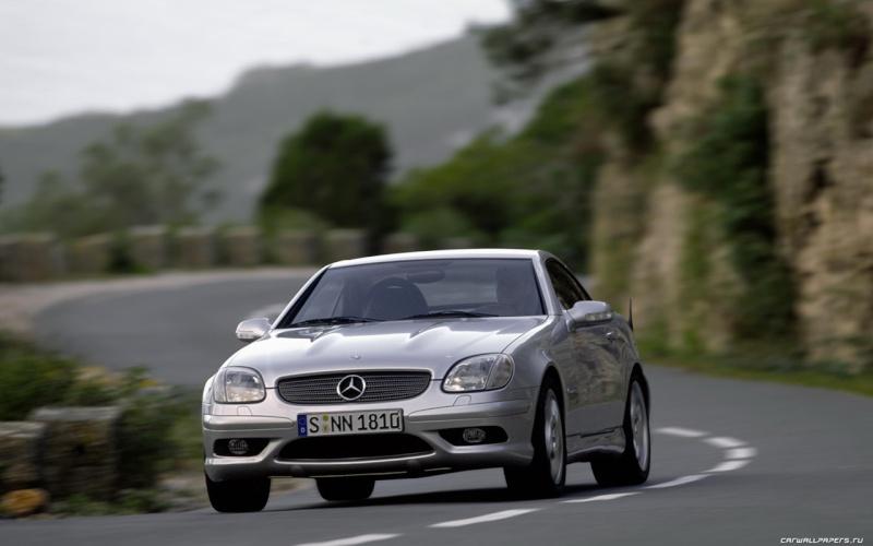 [ Essai] Mercedes SLK 32 AMG (R170) Merce329