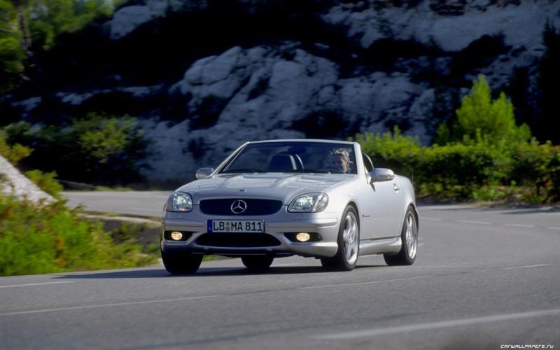 [ Essai] Mercedes SLK 32 AMG (R170) Merce330