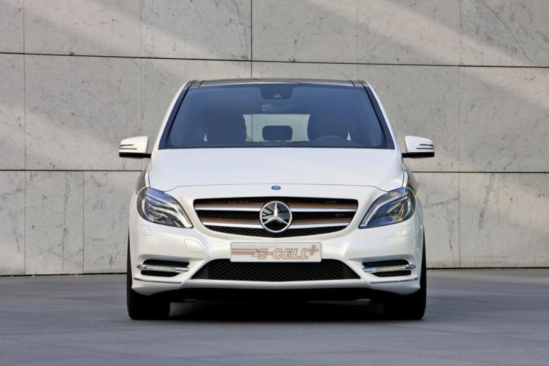 Mercedes Classe B E-Cell Plus Concept 2011 Merce335