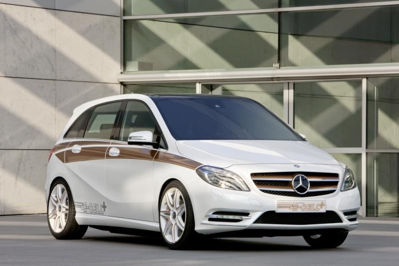 Mercedes Classe B E-Cell Plus Concept 2011 Merce336