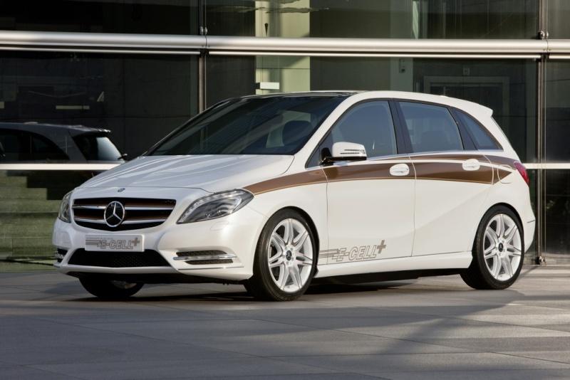 Mercedes Classe B E-Cell Plus Concept 2011 Merce337