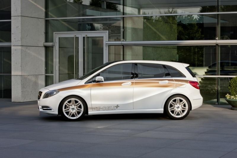 Mercedes Classe B E-Cell Plus Concept 2011 Merce338