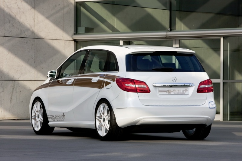 Mercedes Classe B E-Cell Plus Concept 2011 Merce339