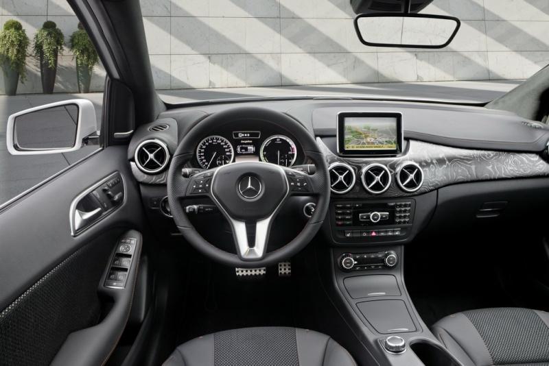 Mercedes Classe B E-Cell Plus Concept 2011 Merce341