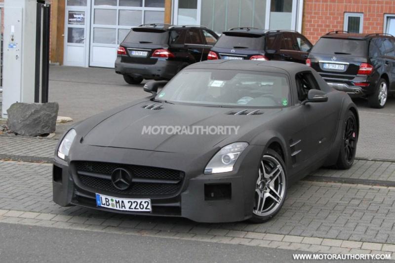 Mercedes SLS AMG Black Series Merce505