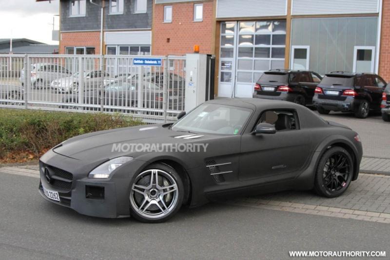 Mercedes SLS AMG Black Series Merce506