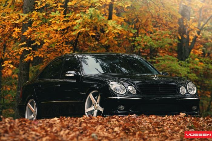 [Essai] La Mercedes E 55 AMG (W211) Merce605
