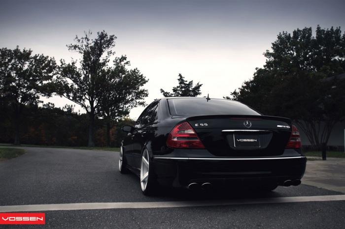 [Essai] La Mercedes E 55 AMG (W211) Merce615