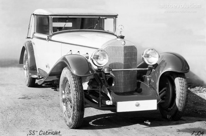Mercedes SS SSK & SSKL (W06) 1928-1934 Merce687