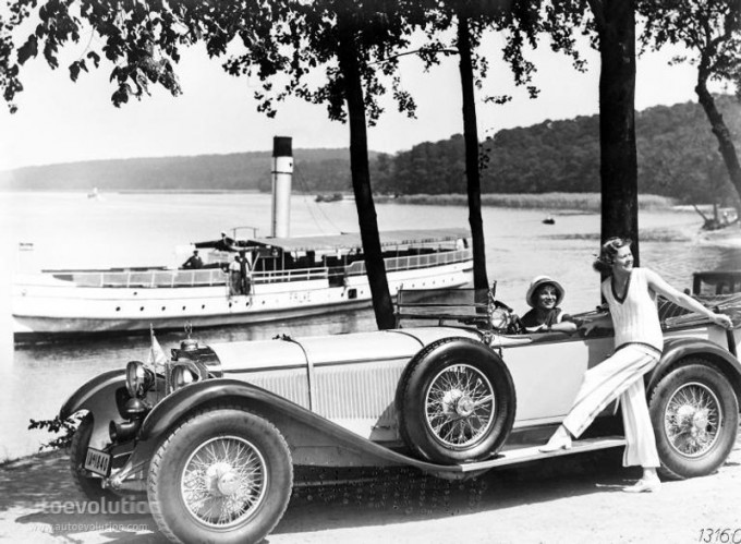 Mercedes SS SSK & SSKL (W06) 1928-1934 Merce688