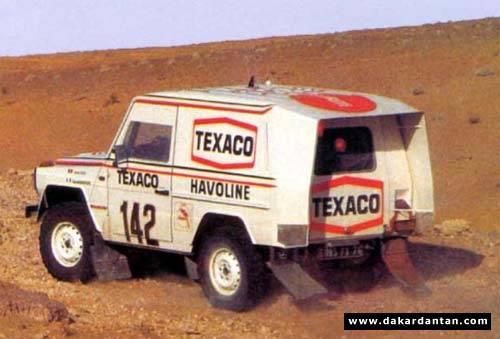 Victoire au Paris-Dakar 1983 Merce890