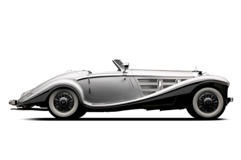 [Essai] Mercedes 540K Roadster 1937 - 1939  Merced45