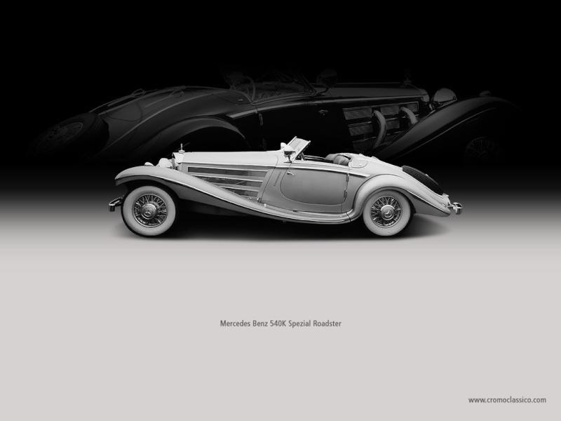 [Essai] Mercedes 540K Roadster 1937 - 1939  Merced52