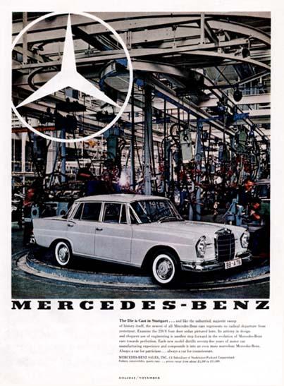 Les Mercedes 230 S / 220 SE Grosse Heckflosse  (W111) 1961-1965   - Page 2 Merced72