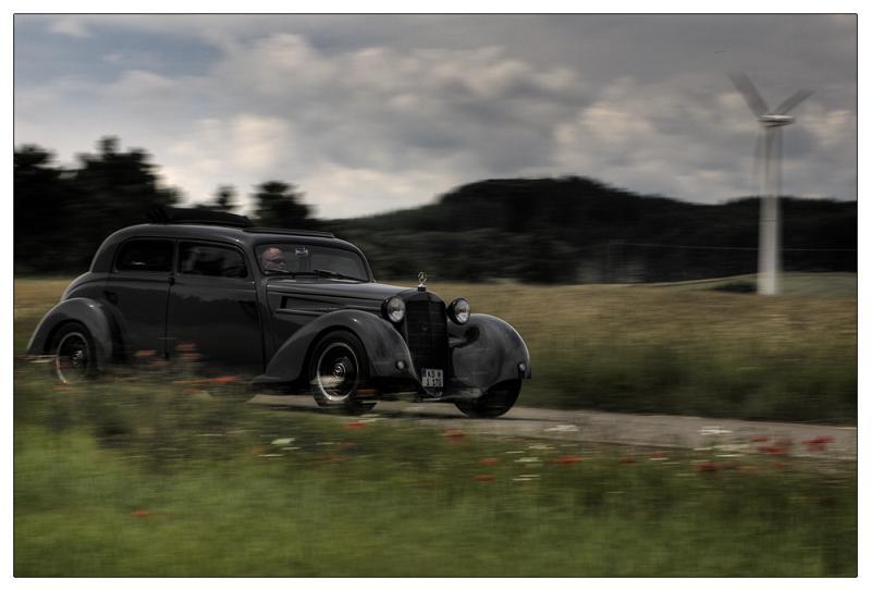 Les Mercedes Hot-Rod Mohnbe10