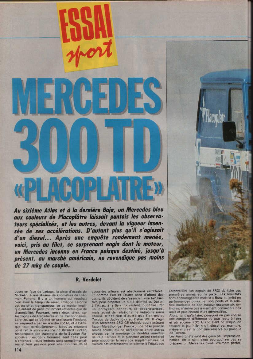 Victoire au Paris-Dakar 1983 Rada3411