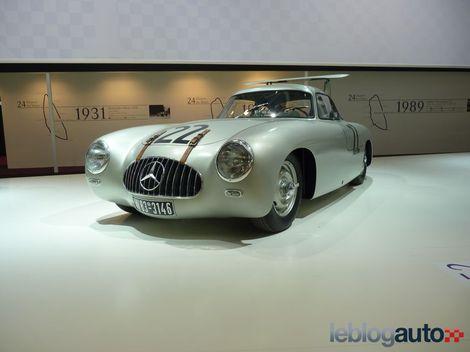 Mercedes aux 24 heures du Mans Ratrom10