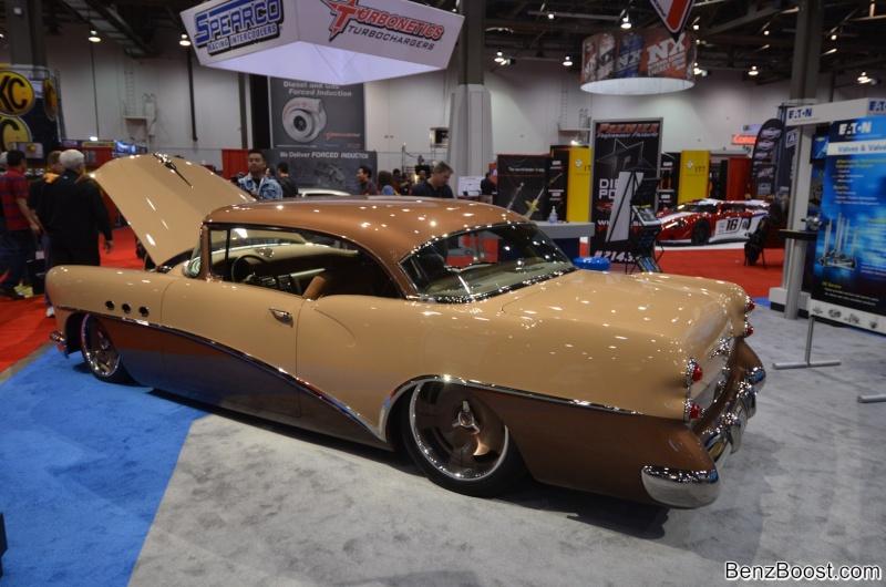 Buick 1954.... Mercedes Sema2014