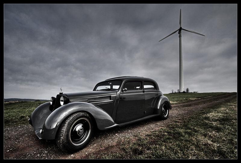 Les Mercedes Hot-Rod Stern10