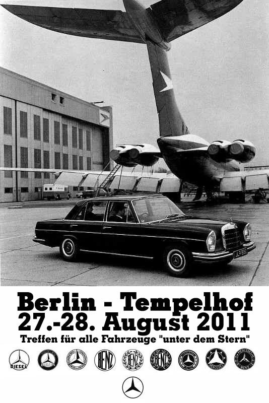 La Mercedes 250 S-SE / 280 S-SE / 300 SE (W108/W109) Berline   Tempel11