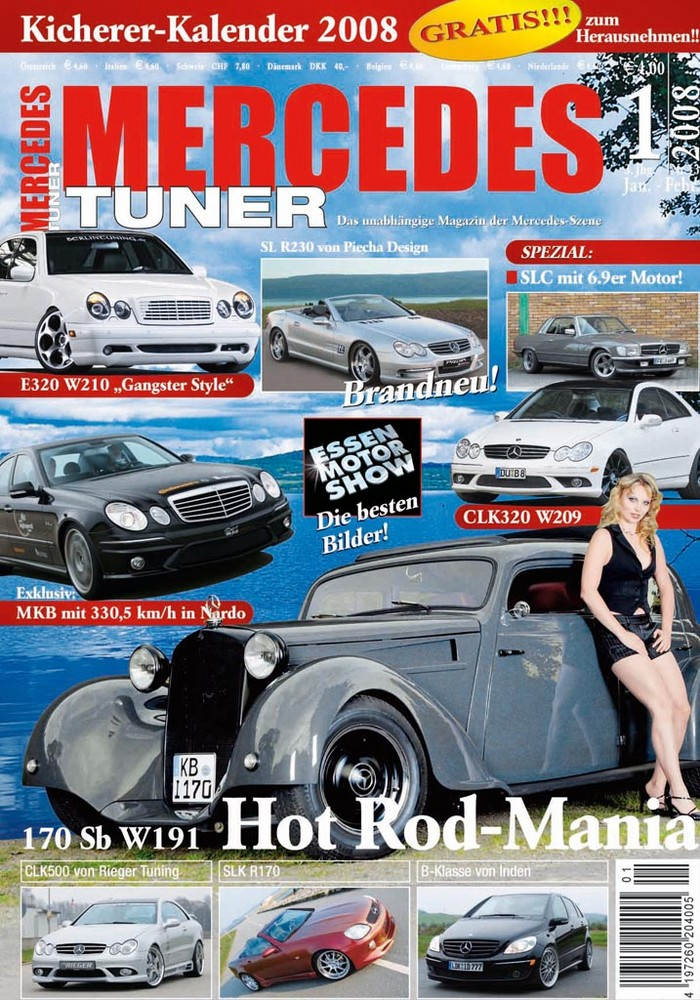 Les Mercedes Hot-Rod Titelb10