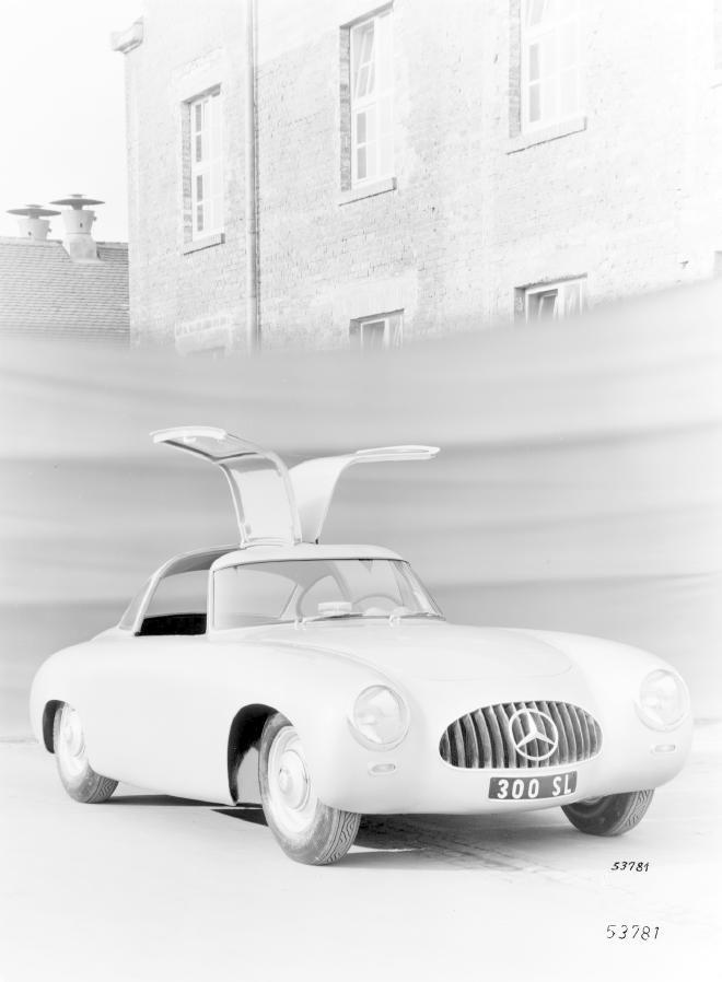 La Mercedes 300 SL 1952 (W194) - Page 2 Trivia13