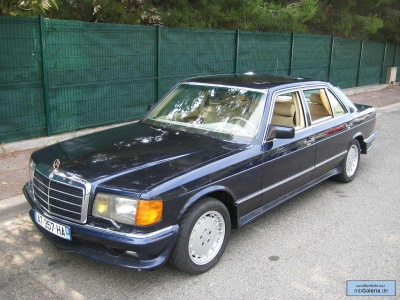 La Mercedes 560 Duchatelet Tunerg23