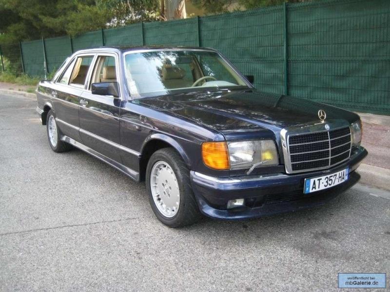 La Mercedes 560 Duchatelet Tunerg25