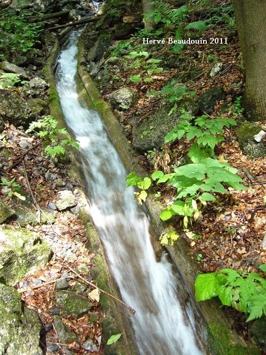 Vodný žľab, à Rakytovo (Slovaquie) P1210315