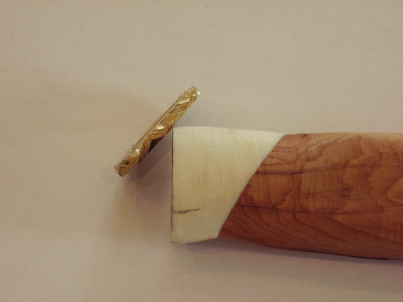 Réfection d'un manche de couteau - Page 2 Imgp0028