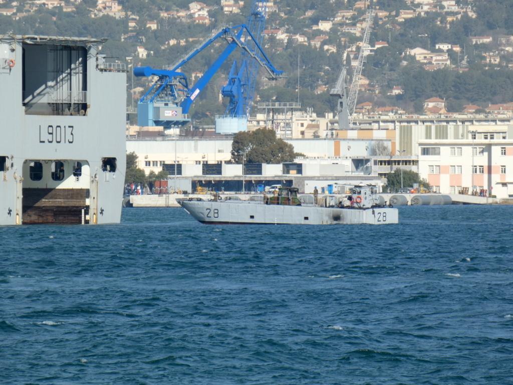 [LES PORTS MILITAIRES DE MÉTROPOLE] Mouvements de Bâtiments dans la rade de Toulon - Page 28 P1170228