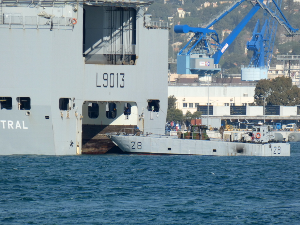 [LES PORTS MILITAIRES DE MÉTROPOLE] Mouvements de Bâtiments dans la rade de Toulon - Page 28 P1170230